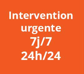 Intervention urgente Val d'Oise 95